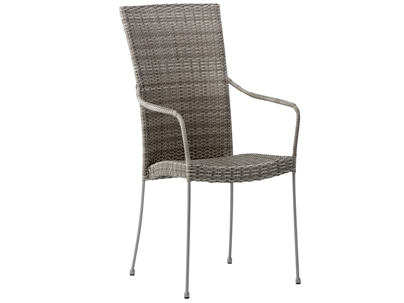 Sika Design AVANTGARDE Saturn Stuhl mit Armlehnen - Taupe