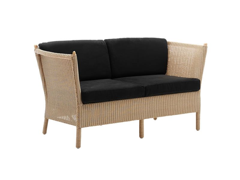 Sika Design CLASSIC 2-Sitzer Sofa Duo, Geflecht Loom Natur