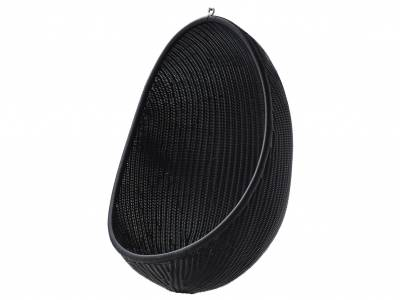 Sika Design EXTERIOR Hanging Egg, Black, Alurattan