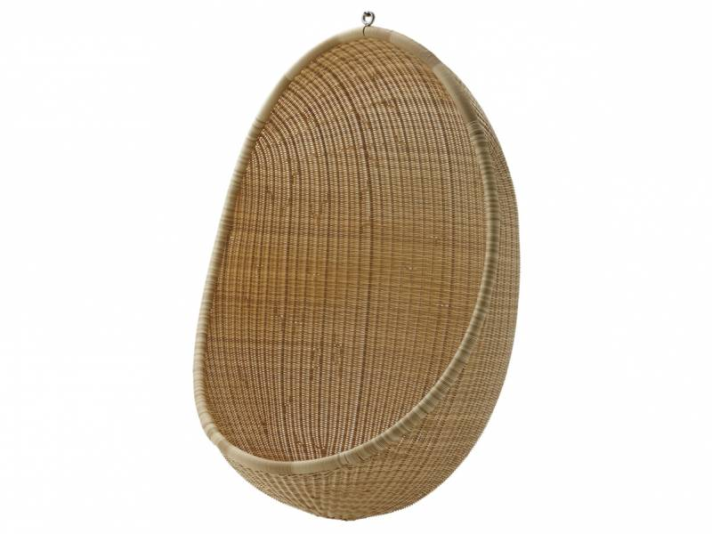 Sika Design EXTERIOR Hanging Egg, Natural, Alurattan