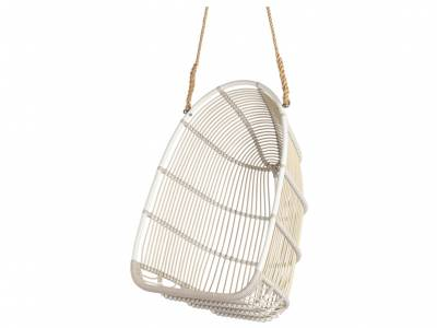 Sika Design EXTERIOR Renoir Swing Sessel, Dove White, Alurattan
