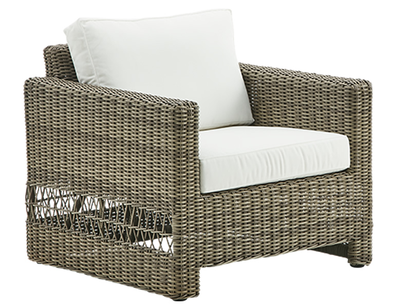 Sika Design GEORGIA GARDEN Carrie Lounge Chair, antik-braun