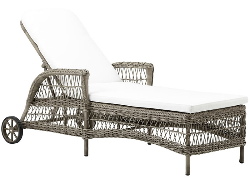 Sika Design GEORGIA GARDEN Daisy Sonnenliege, antik-braun