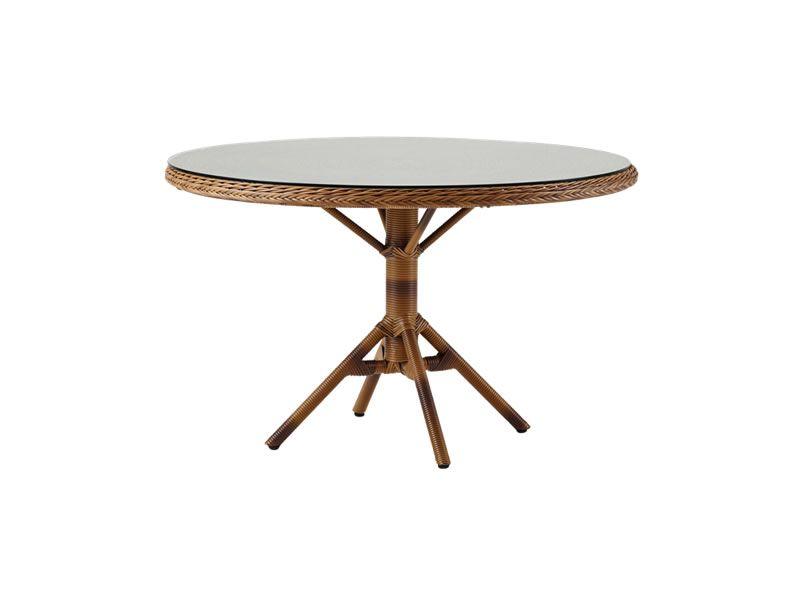 Sika Design GEORGIA GARDEN Grace Esstisch rund - Ø120 cm, kastanie
