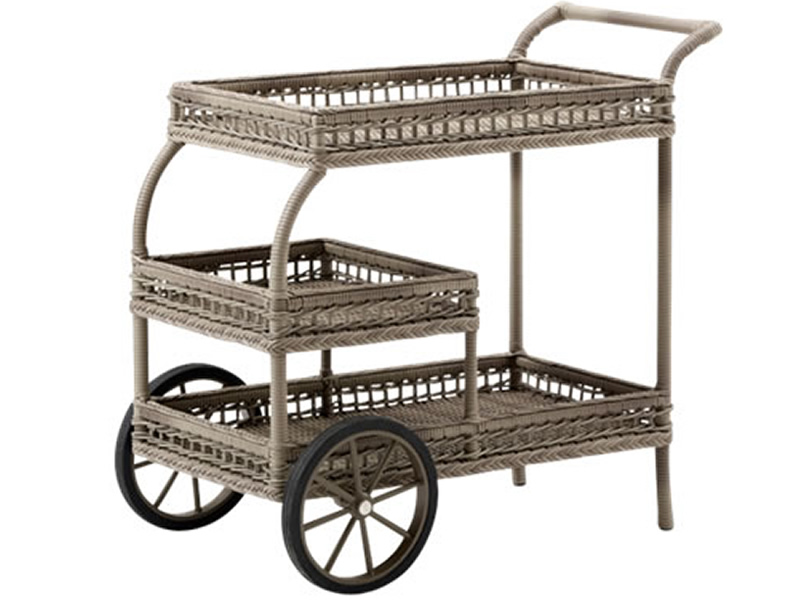 Sika Design GEORGIA GARDEN James Trolley, antik-braun