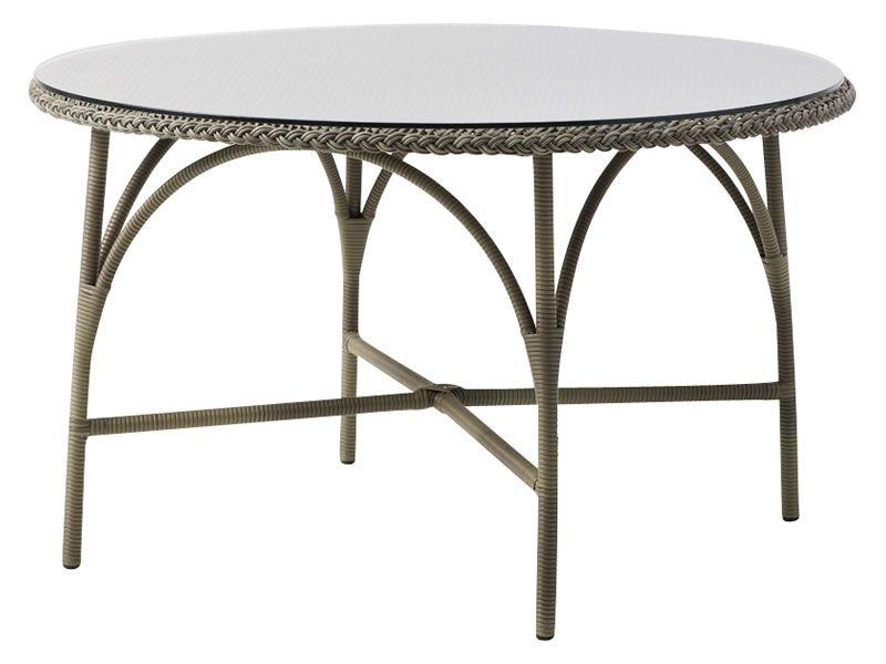 Sika Design GEORGIA GARDEN Victoria Esstisch Ø120 cm, antik-braun