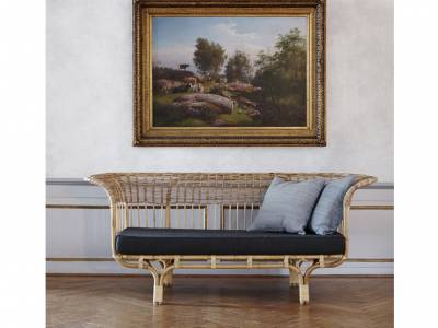 Sika Design ICONS, Belladonna Couch - Designed by Franco Albini