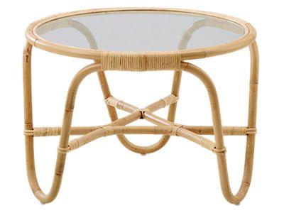 Sika Design ICONS, Charlottenborg Tisch mit Glasplatte - Designed by Arne Jacobsen