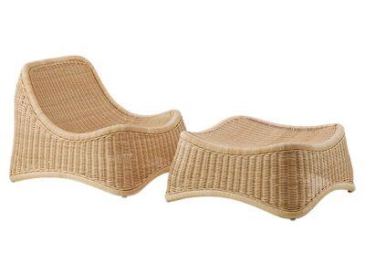 Sika Design ICONS, Chill Stuhl und Hocker - Designed by Nanna Ditzel