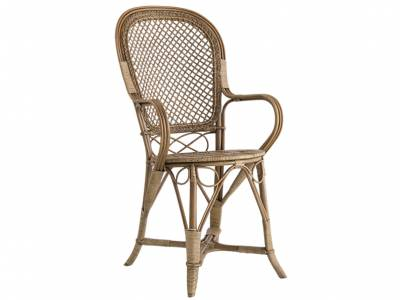 Sika Design ICONS, Fleur Dinning Chair Polished Antique - Designed by Robert Wengler