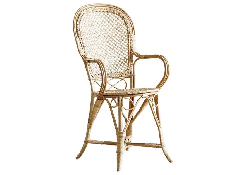 Sika Design ICONS, Fleur Dinning Chair Polished Natural - Designed by Robert Wengler