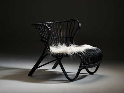Sika Design ICONS, Fox Chair Schwarz - Designed by Viggo Boesen