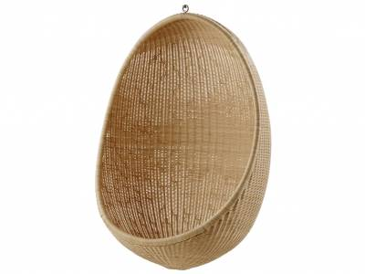 Sika Design ICONS, Hanging Egg Chair, Natur - Designed by Nanna Ditzel