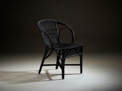 Sika Design ICONS, Wengler Chair Polished Black - Designed by Robert Wengler