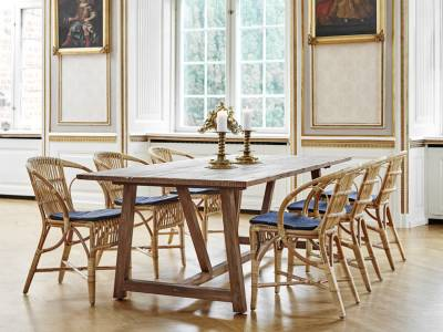 Sika Design ICONS, Wengler Chair Polished Natural - Designed by Robert Wengler