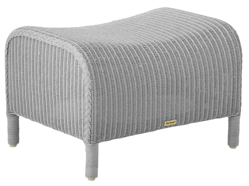 Sika Design Loom Living Dawn Fußhocker, Light Grey