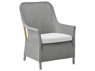 Sika Design Loom Living Dawn Sessel, Light Grey, inkl. Kissen