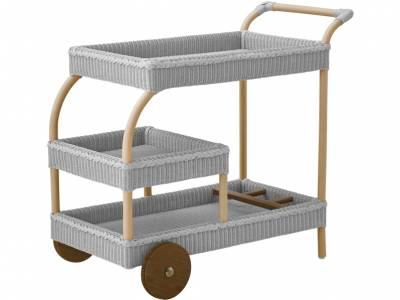 Sika Design Loom Living James Bartrolley, Light Grey