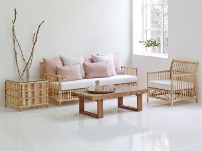 Sika Design ORIGINALS Caroline 3 Sitzer - Skin On Natural