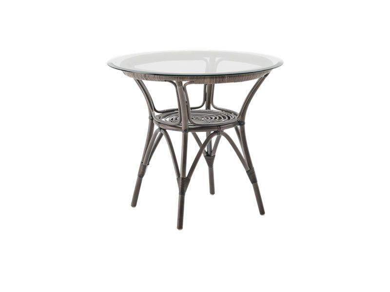 Sika Design ORIGINALS Kaffeetisch Taupe, Ø 80 cm, Ø 100 cm