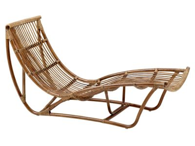Sika Design ORIGINALS Michelangelo Rattan Schlafcouch - Antique