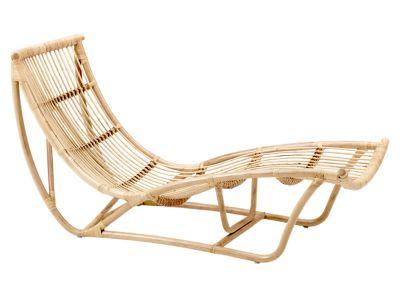 Sika Design ORIGINALS Michelangelo Rattan Schlafcouch - Natural