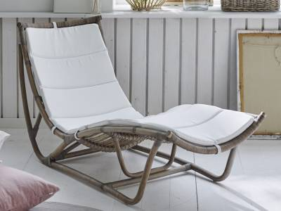 Sika Design ORIGINALS Michelangelo Rattan Schlafcouch - Natural