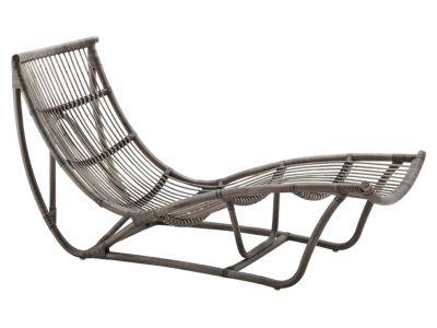 Sika Design ORIGINALS Michelangelo Rattan Schlafcouch - Taupe