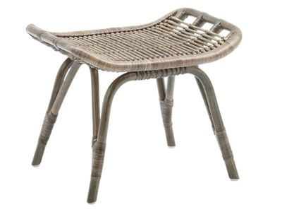 Sika Design ORIGINALS Monet Rattan Hocker - Taupe