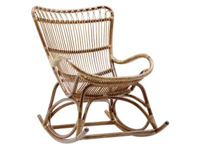 Sika Design ORIGINALS Monet Rattan Schaukelstuhl - Antique