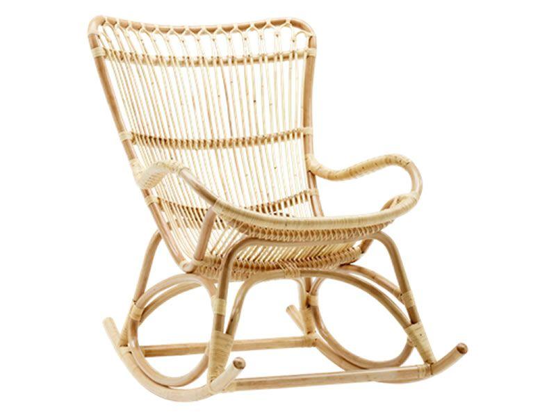 Sika Design ORIGINALS Monet Rattan Schaukelstuhl - Natural
