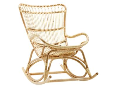 Sika Design ORIGINALS Monet Rattan Schaukelstuhl - Natural
