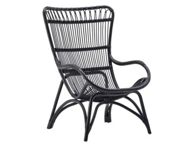 Sika Design ORIGINALS Monet Rattan Sessel - Schwarz