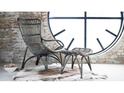 Sika Design ORIGINALS Monet Rattan Sessel - Schwarz