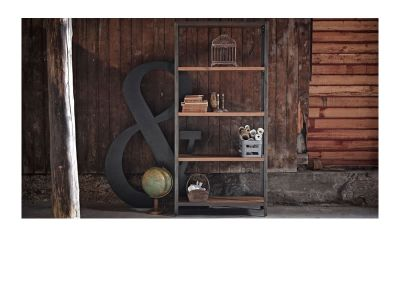 Sika Design Shelly Regal mit 5 Teakholzböden