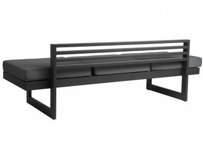 Stern Dining-Bank/Liege New Holly Aluminium anthrazit
