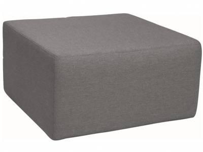 Stern Domino Hocker dunkelgrau, 80x80x42 cm