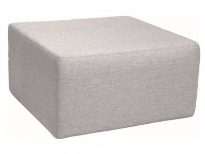 Stern Domino Hocker grau, 80x80x42 cm
