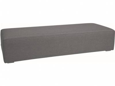 Stern Domino Lounge Element dunkelgrau, 200x80x42 cm
