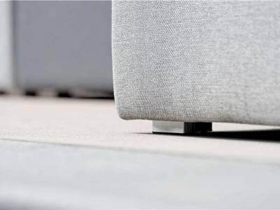 Stern Domino Lounge Element grau, 160x80x42 cm