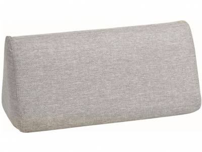 Stern Domino Rückenkeil grau, 30x30x70 cm