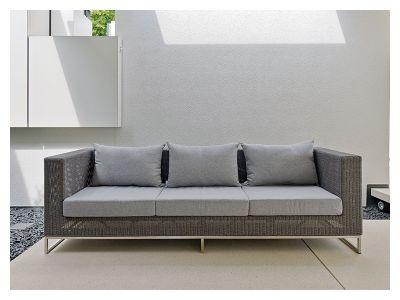 Stern FONTANA MODULAR 3-Sitzer Sofa, basaltgrau