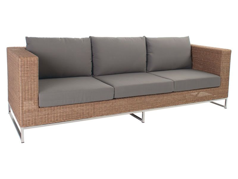 Stern FONTANA MODULAR 3-Sitzer Sofa, zimt