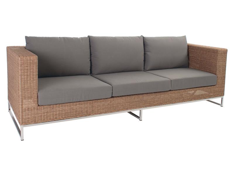 stern fontana modular 3 sitzer sofa zimt gartenm bel. Black Bedroom Furniture Sets. Home Design Ideas