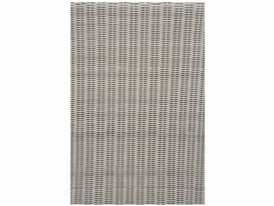 Stern FONTANA Sessel, Vintage weiß inkl. Untergestell in Aluminium weiß