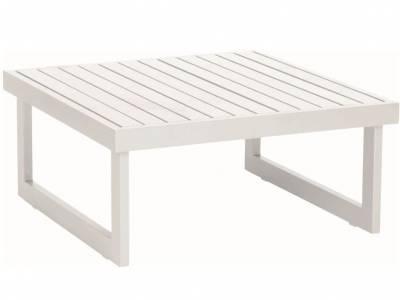 Stern New Holly Beistelltisch/Fußhocker Aluminium weiß