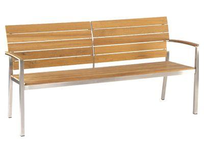 Stern Savona 2-Sitzer Bank, 130 cm