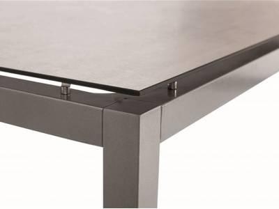 Stern Tisch 250 x 100, Silverstar 2.0 Zement hell