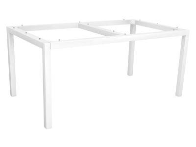 Stern Tischsystem: Alu Tischgestell 130 x 80 cm weiß + freiwählbare Tischplatte