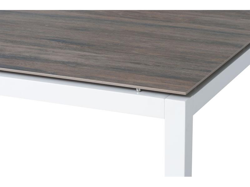 Stern Tischsystem Alu Tischgestell 130 X 80 Cm Weiss Freiwahlbare